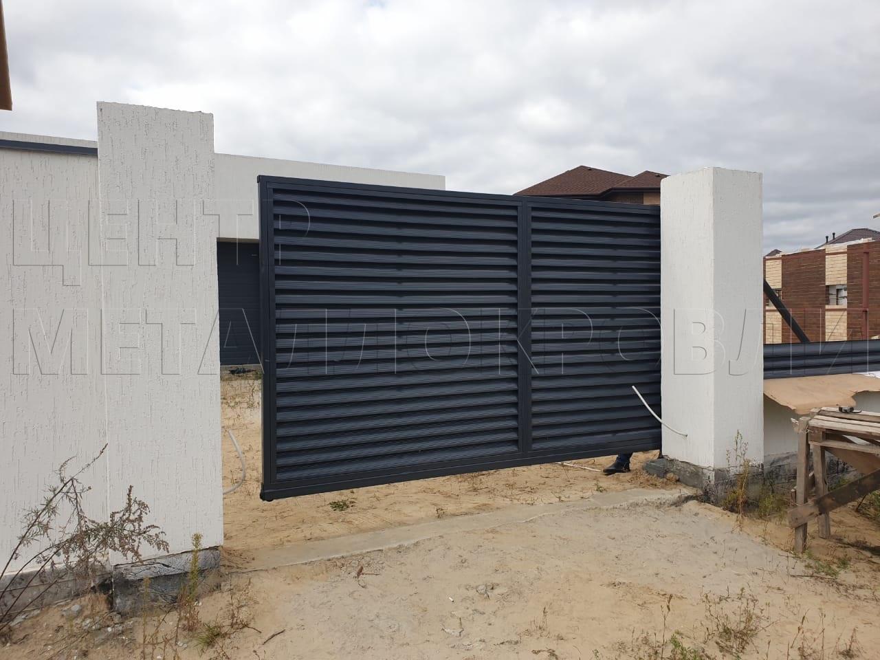 Забор Еврожалюзи в Тюмени
