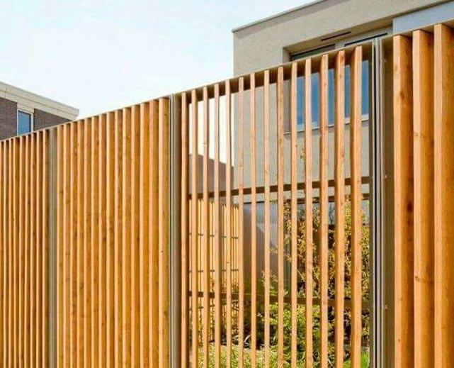 Вертикальный забор-жалюзи