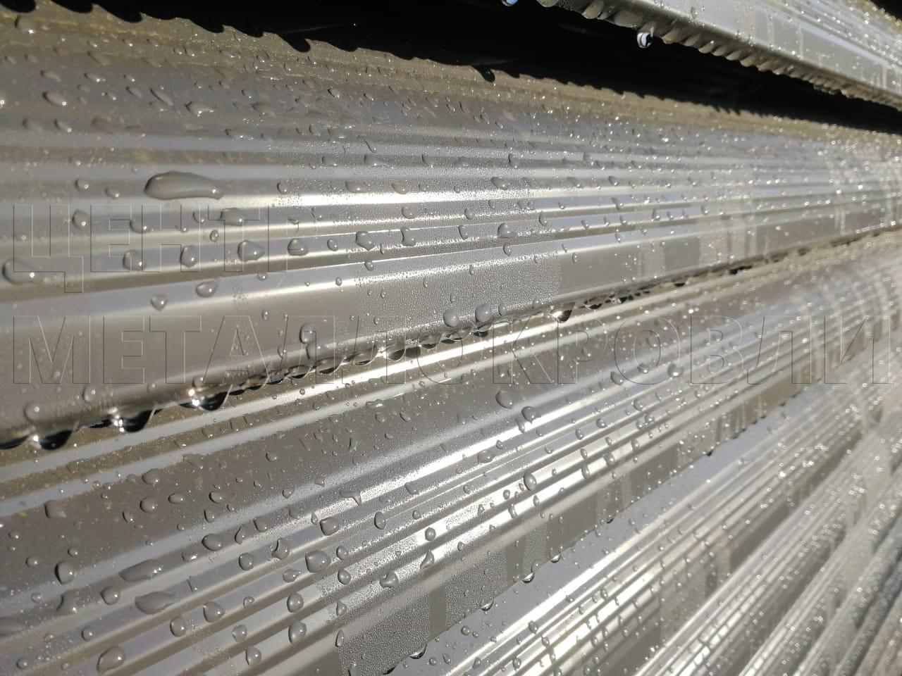 Забор-жалюзи с ламелями Еврожалюзи от Центра Металлокровли в Новороссийске