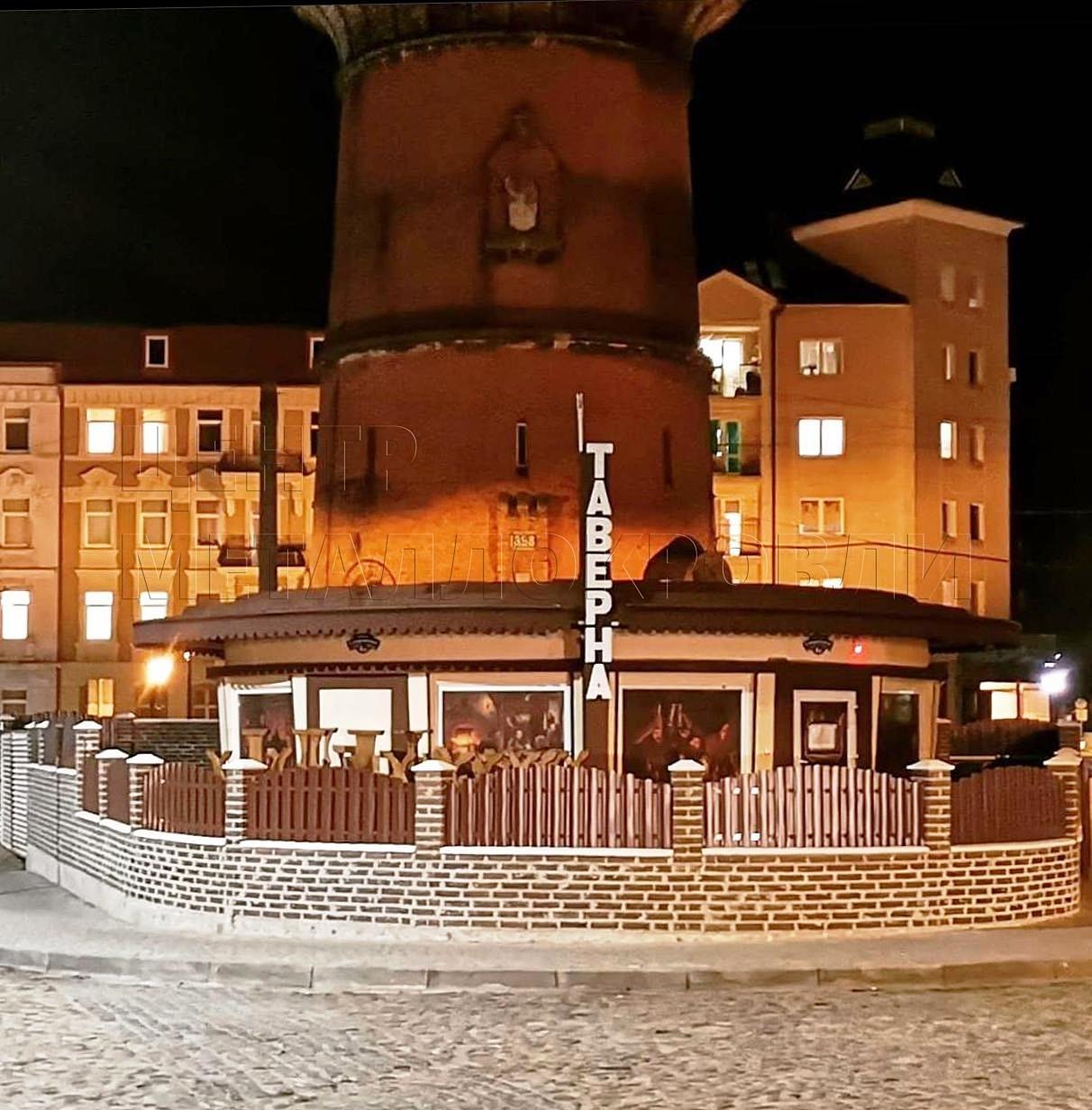Комбинированный забор из евроштакетника и еврожалюзи в Калининграде-1