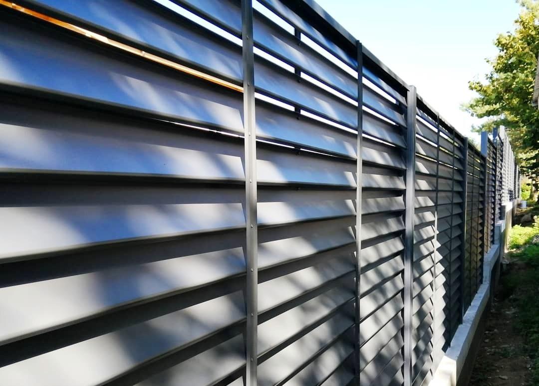 Забор-жалюзи еврожалюзи как выбрать-13